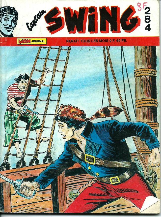 Couverture de Capt'ain Swing! (1re série) -284- Les quatre qui devaient mourir