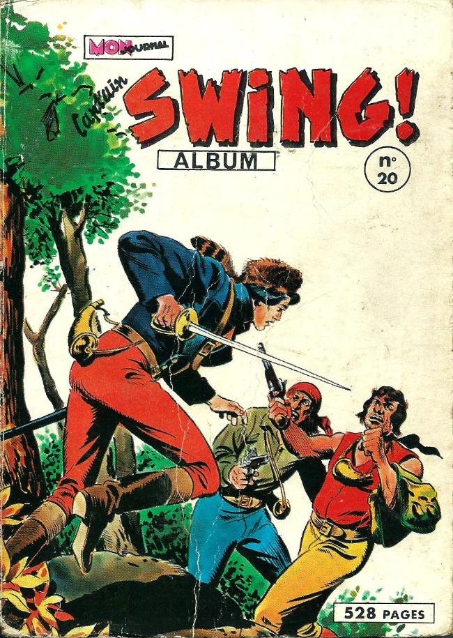 Couverture de Capt'ain Swing! (1re série) -Rec020- Album N°20 (du n°77 au n°80)