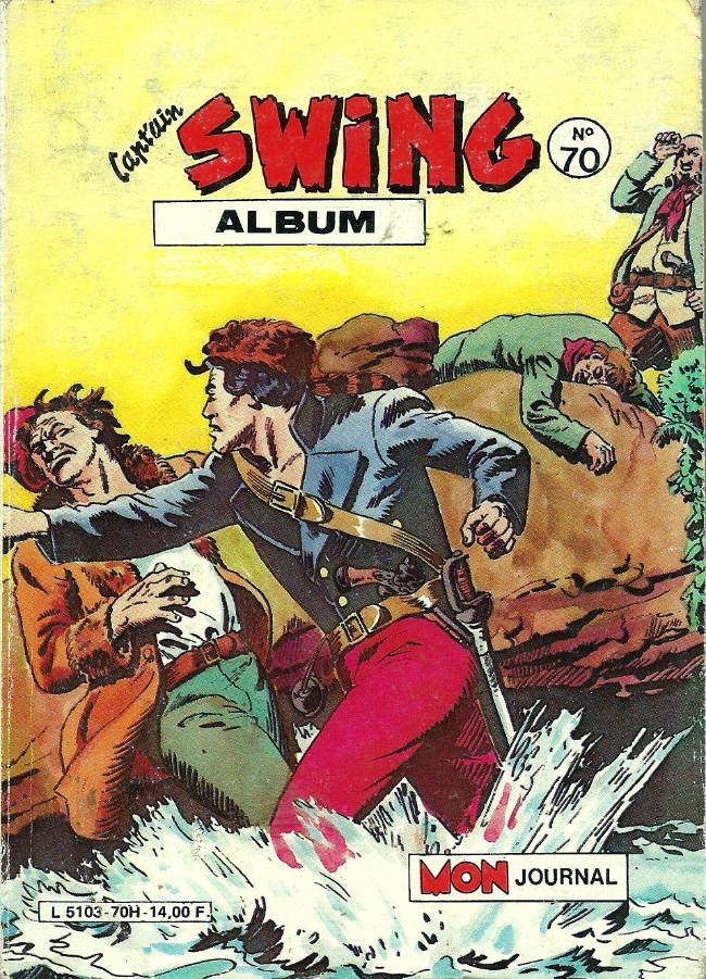 Couverture de Capt'ain Swing! (1re série) -Rec070- Album N°70 (du n°240 au n°242)