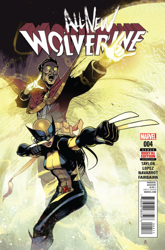 Couverture de All-New Wolverine (2016) -4- Issue 4