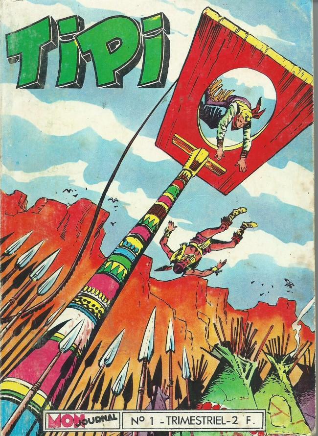 Couverture de Tipi -1- Pécos Bill-La tribu suspectée