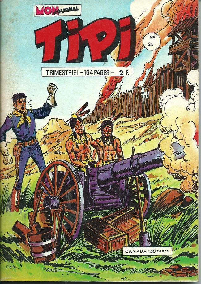 Couverture de Tipi -25- Le chasseur de primes