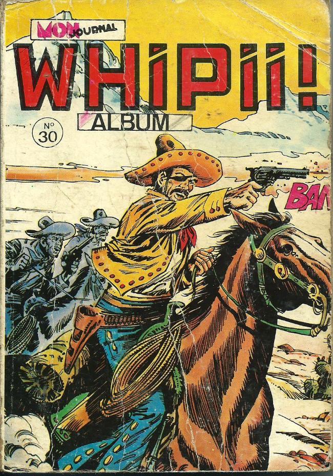 Couverture de Whipii ! (Panter Black, Whipee ! puis) -Rec30- Album N°30 (du n°86 au n°88)