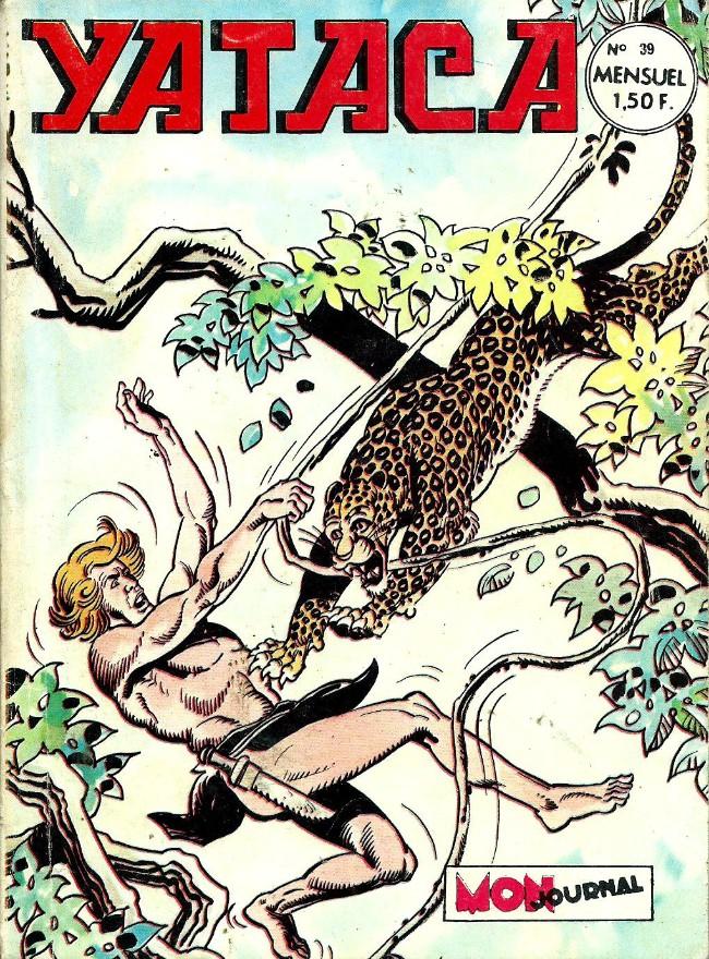 Couverture de Yataca (Fils-du-Soleil) -39- La vrai police de la jungle