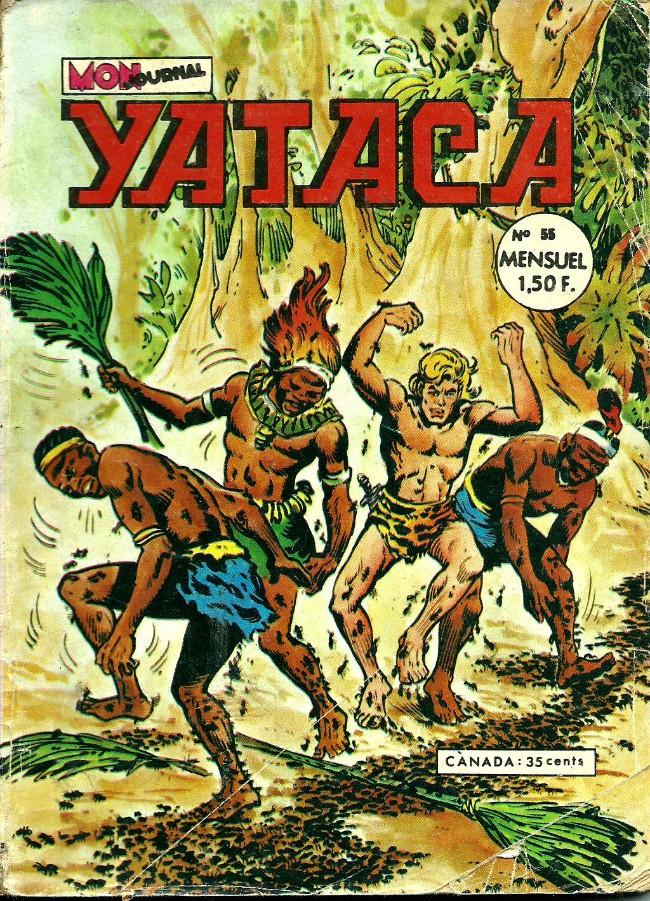 Couverture de Yataca (Fils-du-Soleil) -55- La mort rouge