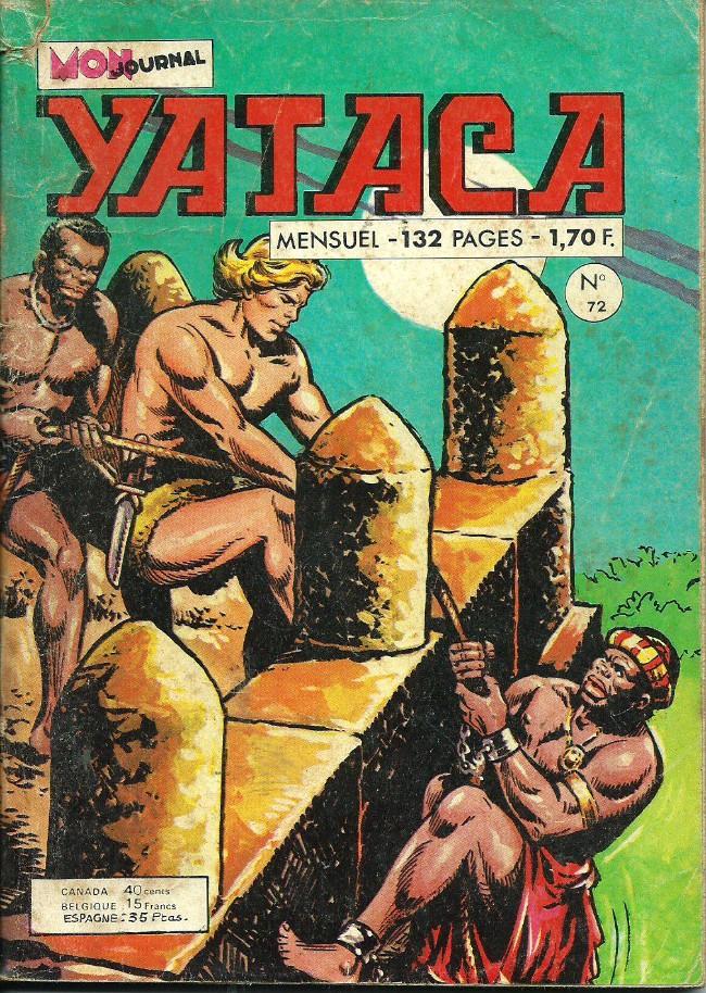 Couverture de Yataca (Fils-du-Soleil) -72- Les négriers