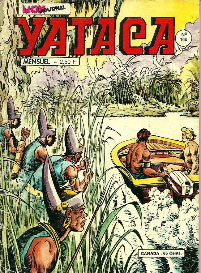 Couverture de Yataca (Fils-du-Soleil) -104- Le royaume des eaux mortes