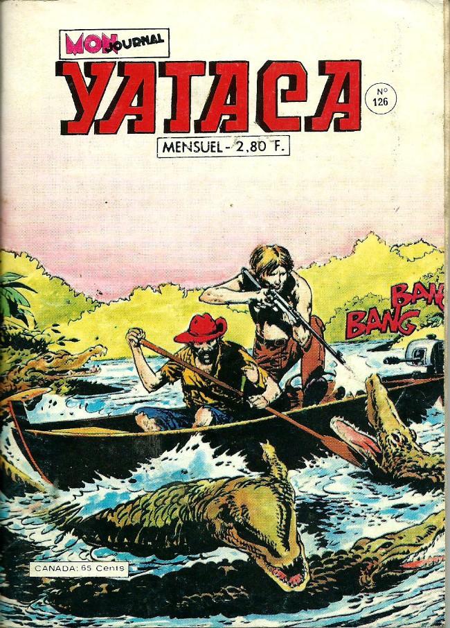 Couverture de Yataca (Fils-du-Soleil) -126- Les chasseurs d'hommes