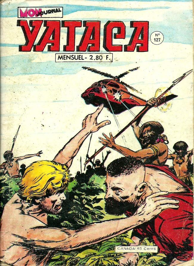 Couverture de Yataca (Fils-du-Soleil) -127- Le complot des sorciers
