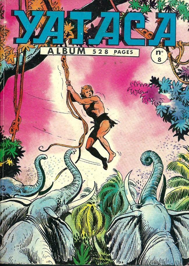 Couverture de Yataca (Fils-du-Soleil) -Rec08- Album N°8 (du n°25 au n°28)