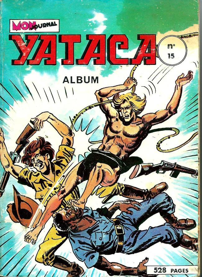 Couverture de Yataca (Fils-du-Soleil) -Rec15- Album N°15 (du n°53 au n°56)