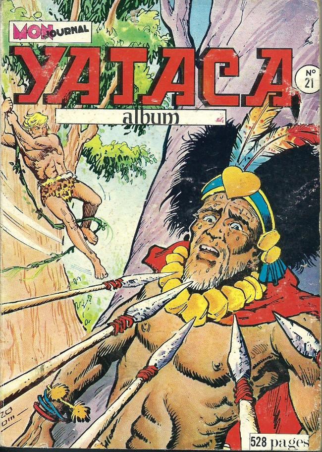 Couverture de Yataca (Fils-du-Soleil) -Rec21- Album N°21 (du n°77 au n°80)