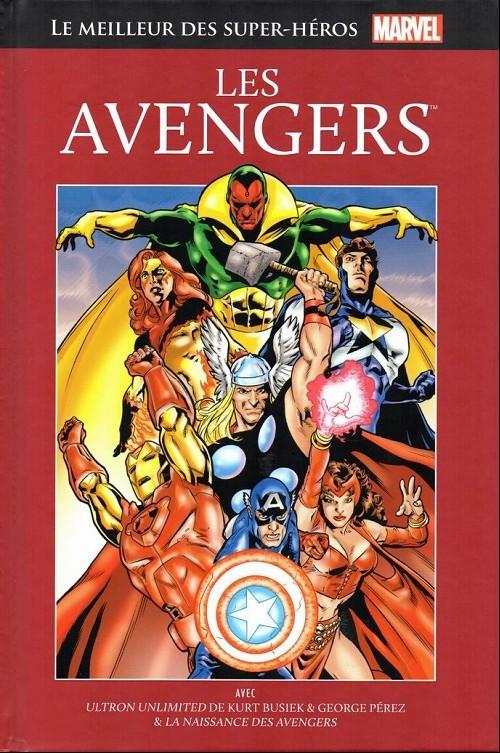 Couverture de Marvel Comics : Le meilleur des Super-Héros - La collection (Hachette) -1- Les Avengers