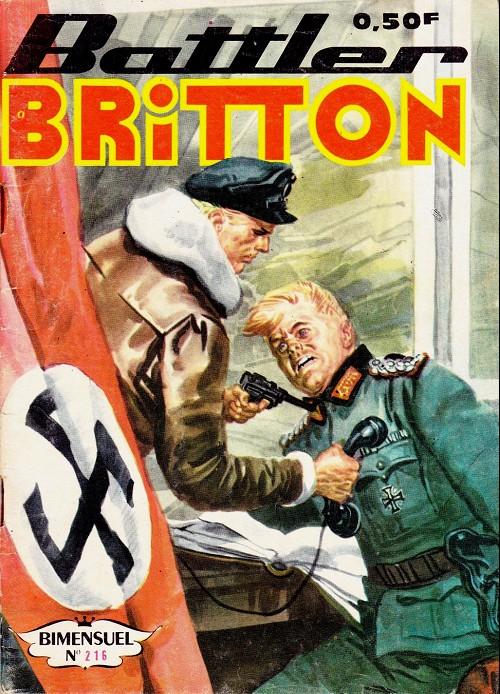 Couverture de Battler Britton -216- Bandit d'honneur