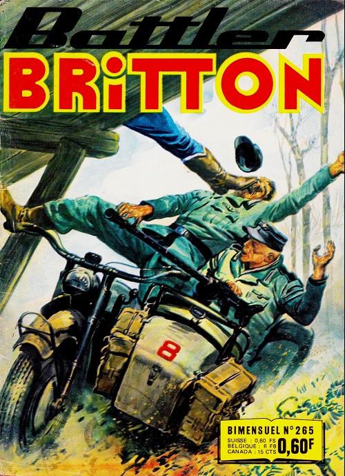 Couverture de Battler Britton -265- La vallée maudite