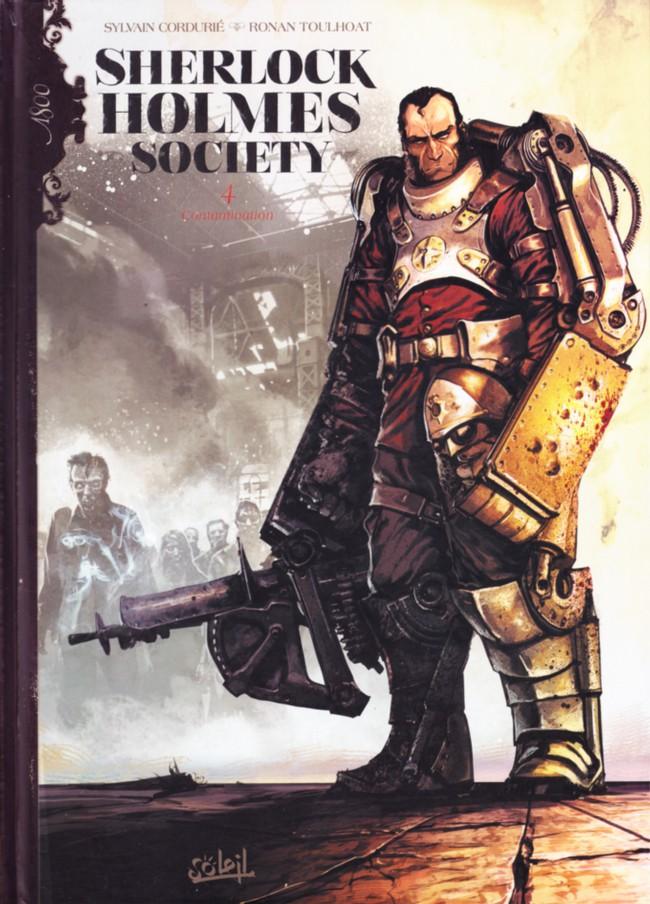 Couverture de Sherlock Holmes Society -4- Contamination