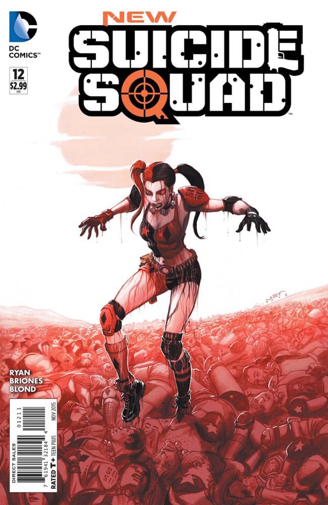 Couverture de New Suicide Squad (2014) -12- Monsters, Part Four