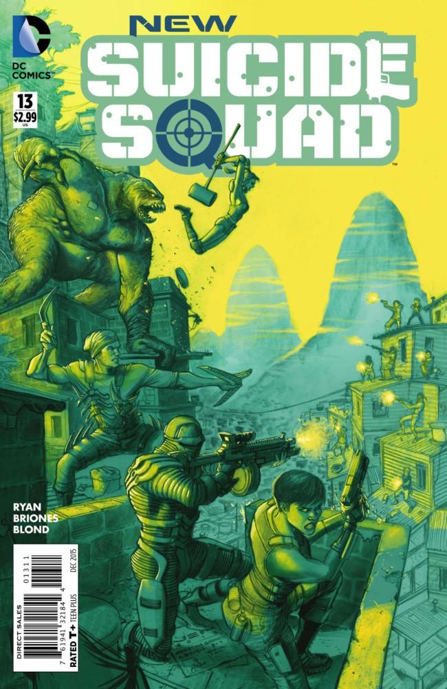Couverture de New Suicide Squad (2014) -13- Freedom