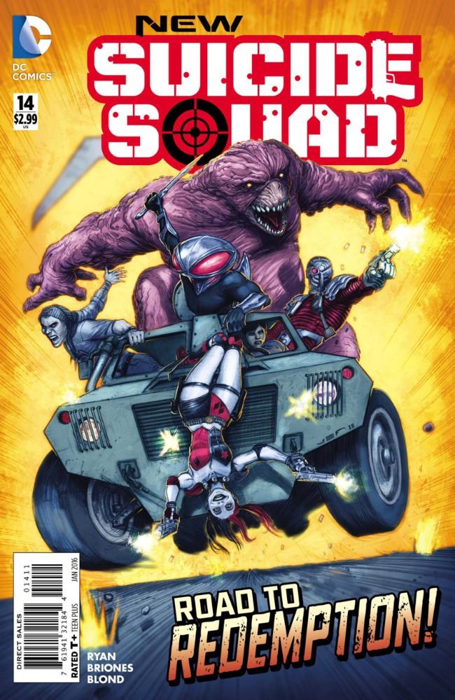 Couverture de New Suicide Squad (2014) -14- Freedom, Part Two