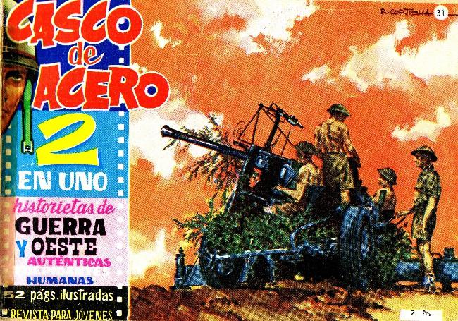 Couverture de Casco de acero -31- Corresponsal de guerra