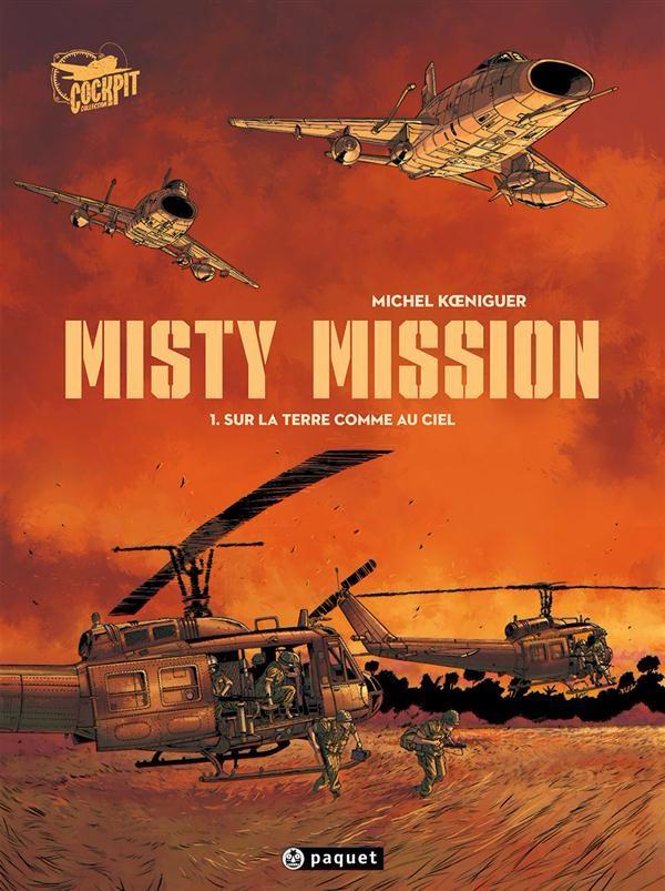 Couverture de Misty Mission -1- Sur la Terre comme au ciel