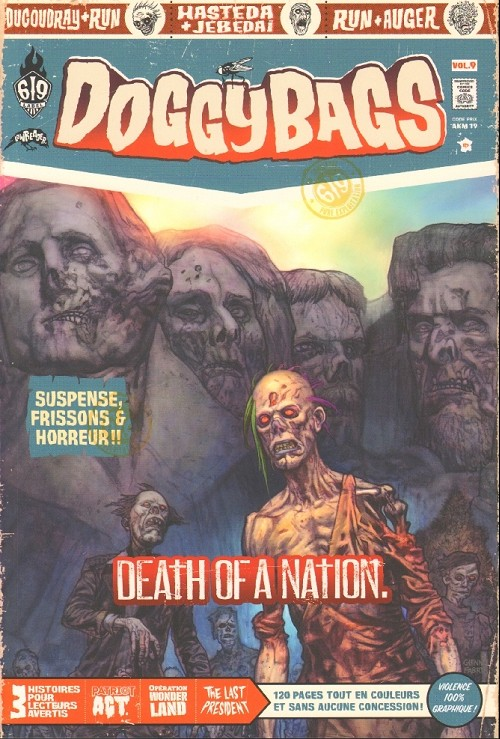 Couverture de Doggybags -9- Death of a Nation