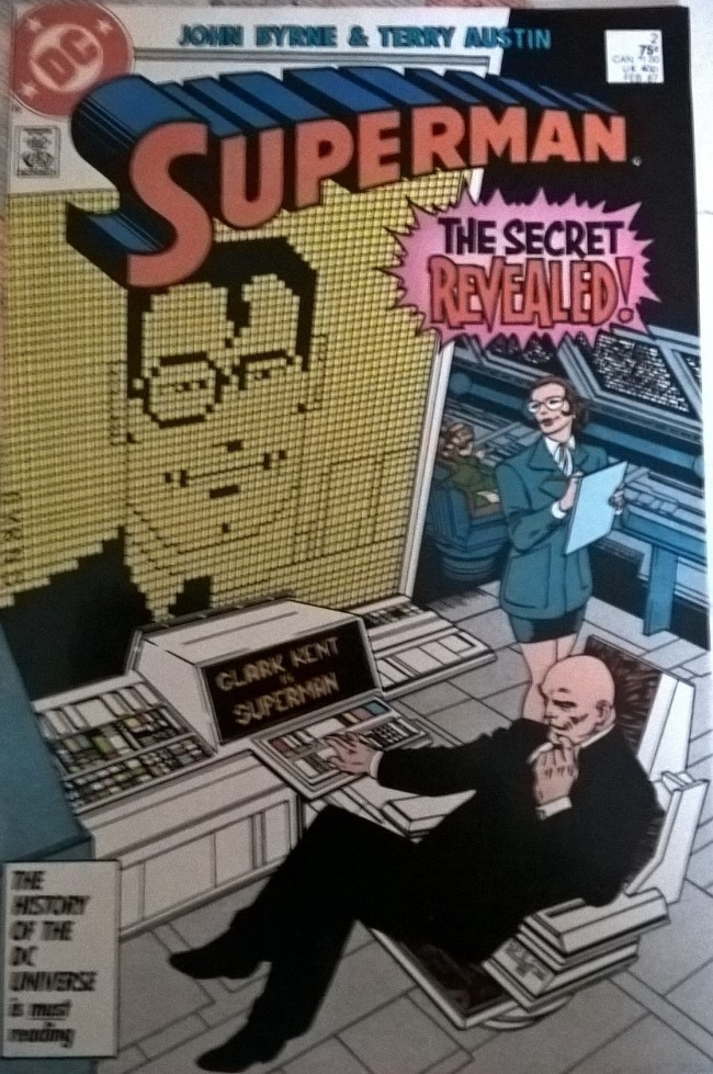 Couverture de Superman (1987) -2- the secret revealed