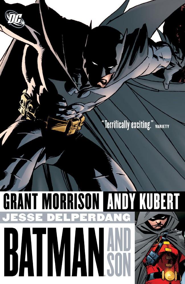 Couverture de Batman (1940) -INT- Batman and Son