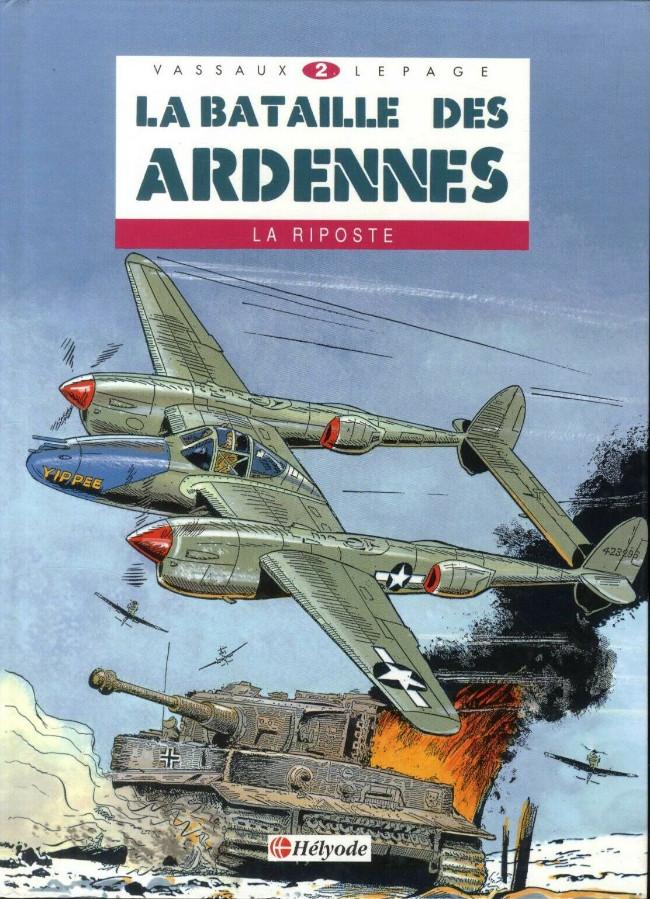 Couverture de La bataille des Ardennes - Nuts! -2- La riposte