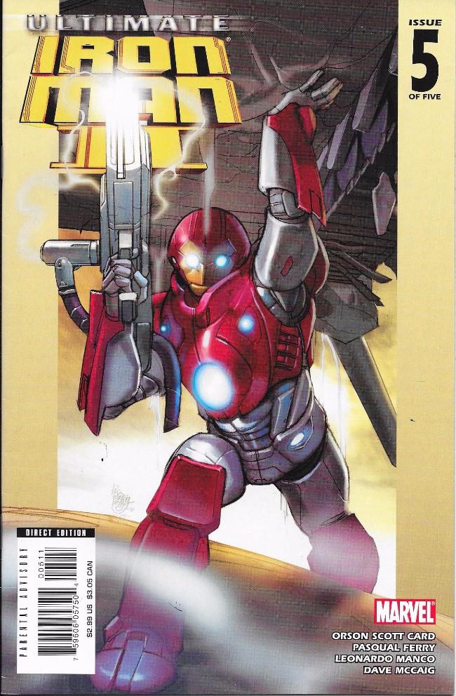 Couverture de Ultimate Iron Man II (2008) -5- Ultimate Iron man II (2008)