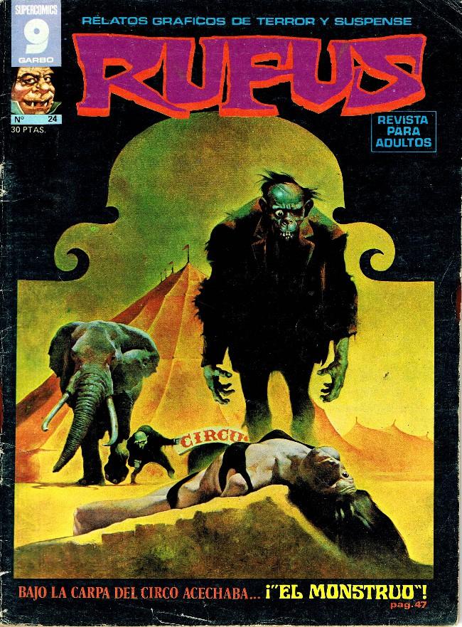 Couverture de Rufus (Eerie en espagnol) -24- ¡El monstruo!