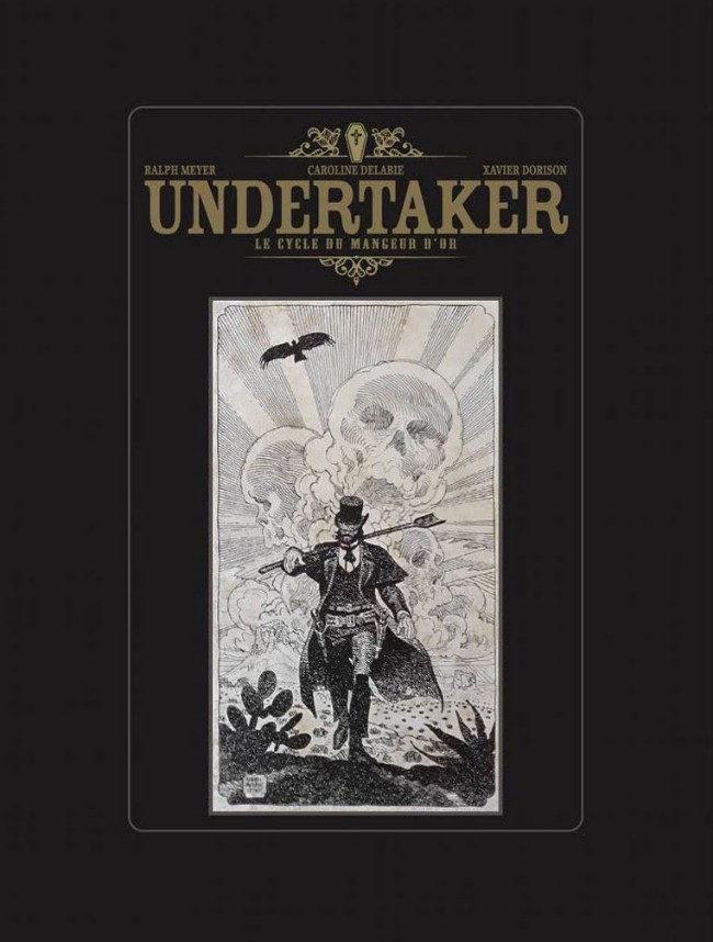 Couverture de Undertaker -INT1TL- Le Cycle du mangeur d'or