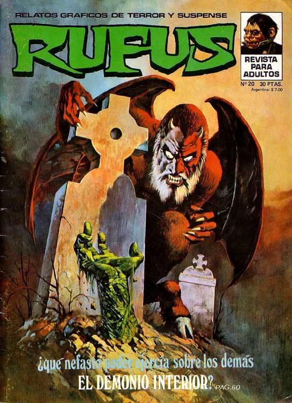 Couverture de Rufus (Eerie en espagnol) -20- El demonio interior