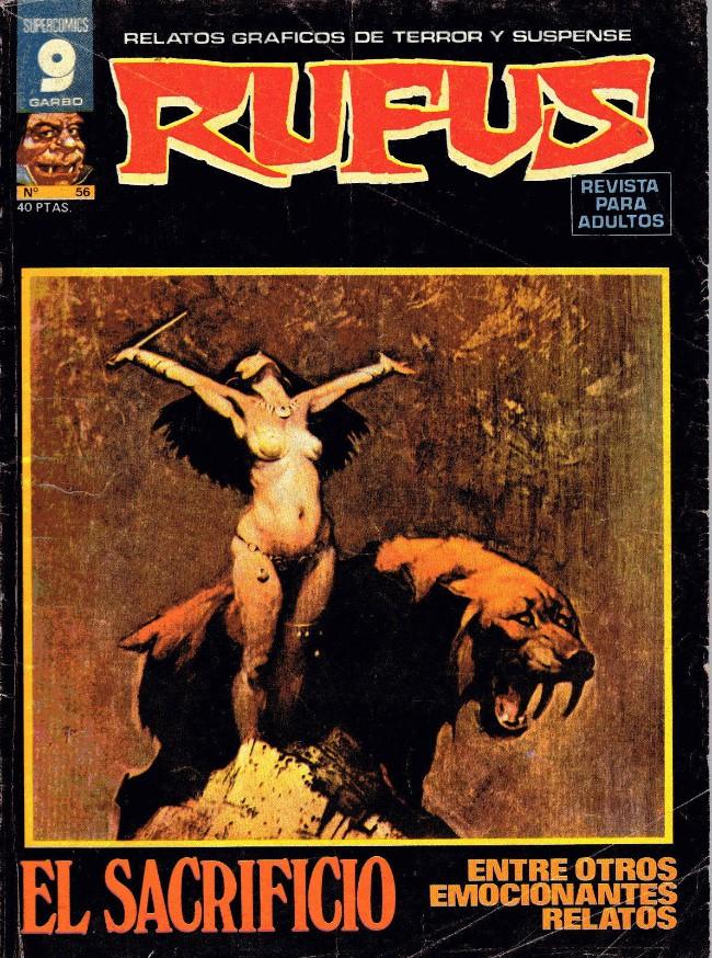 Couverture de Rufus (Eerie en espagnol) -56- El sacrificio