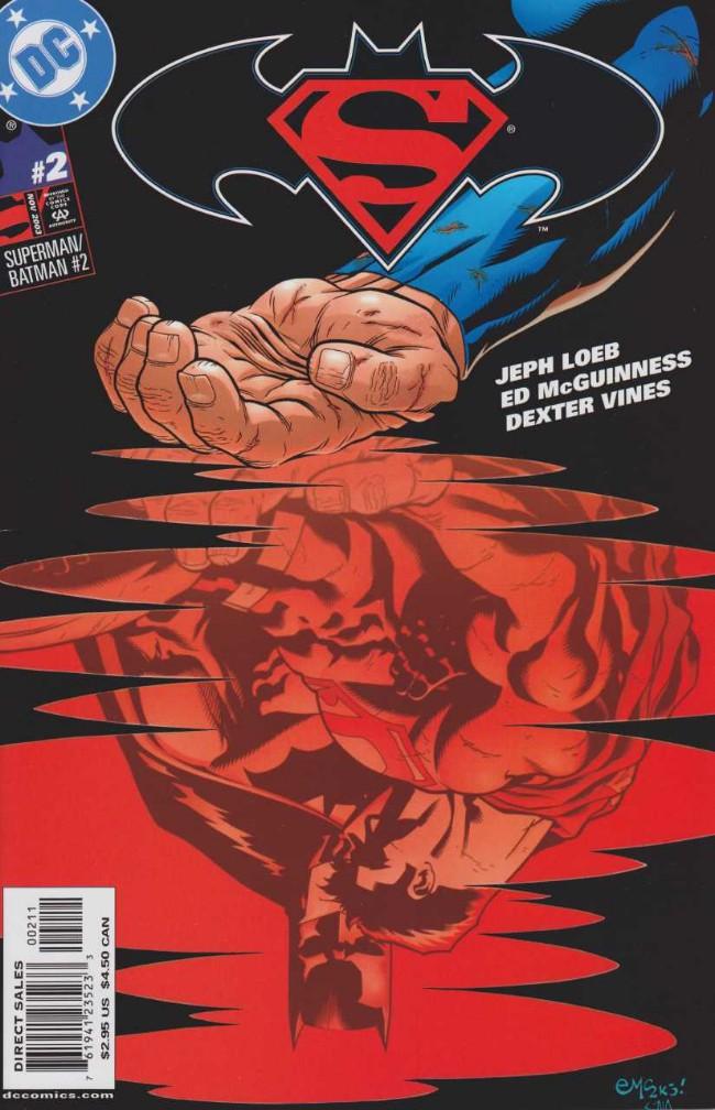 Couverture de Superman/Batman (2003) -2- The world's Finest. Part 2: Early Warning