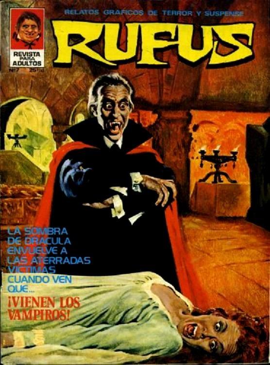 Couverture de Rufus (Eerie en espagnol) -7- ¡Vienen los vampiros!