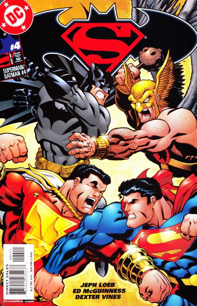 Couverture de Superman/Batman (2003) -4- The world's Finest. Part 4: Battle on