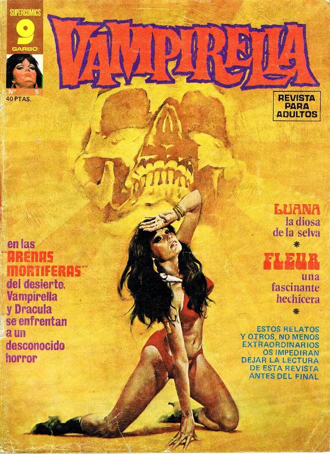 Couverture de Vampirella (en espagnol) -5- Arenas mortíferas