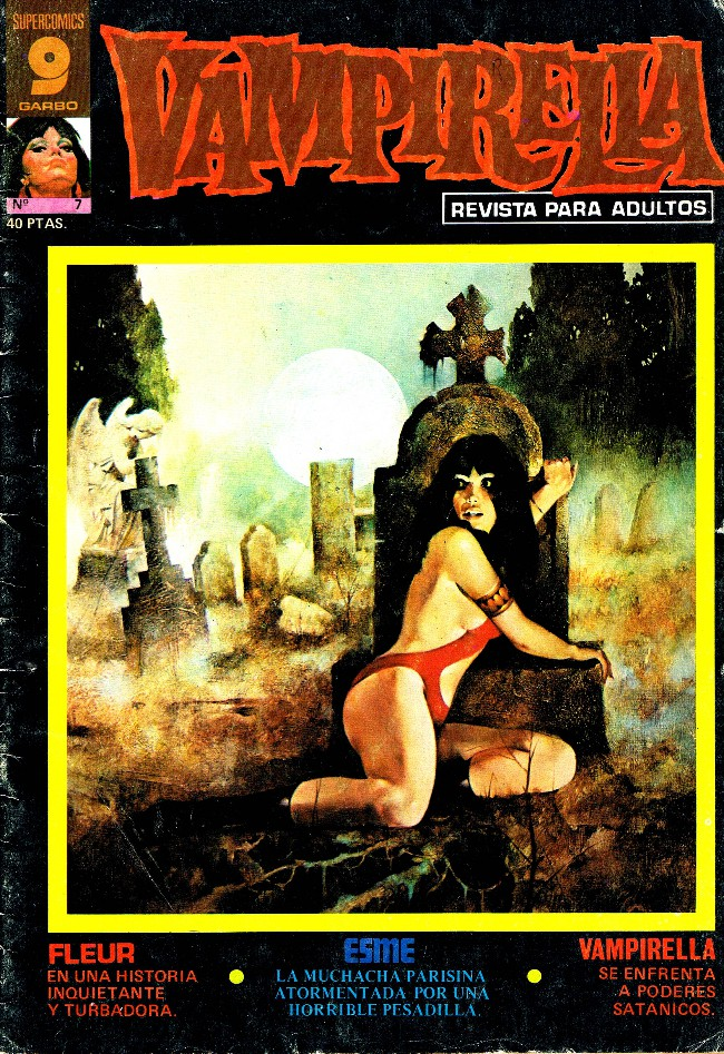 Couverture de Vampirella (en espagnol) -7- Brujería