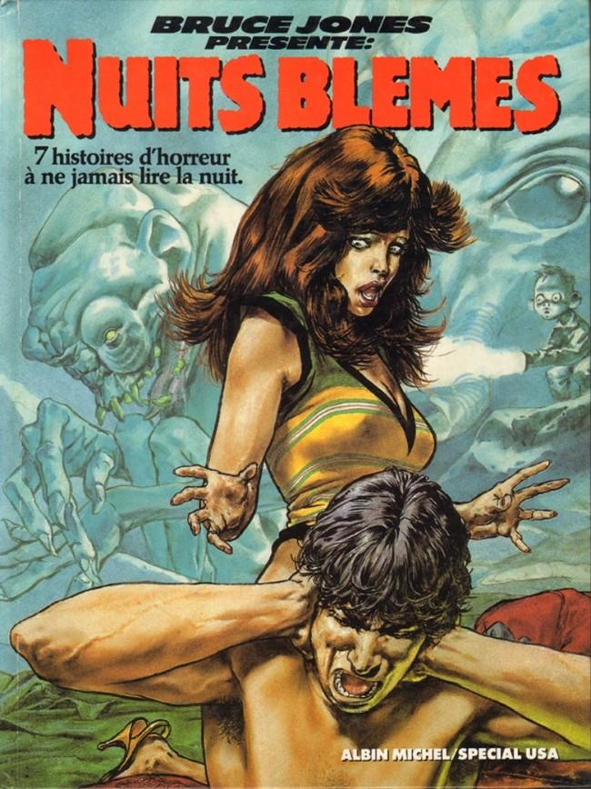 Couverture de Bruce Jones présente -1- Nuits blêmes