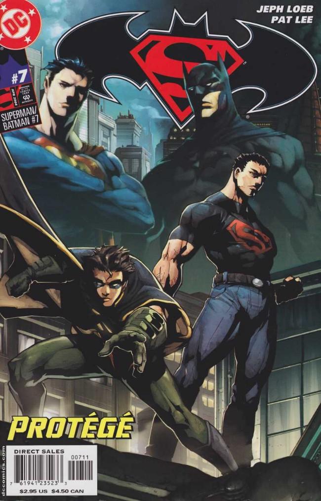 Couverture de Superman/Batman (2003) -7- The world's Finest. Part 7: Protégé