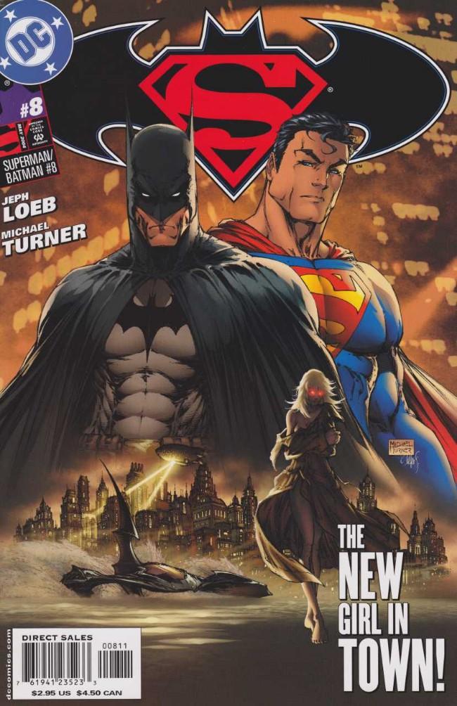 Couverture de Superman/Batman (2003) -8- Supergirl from Krypton. Part 1: Alone