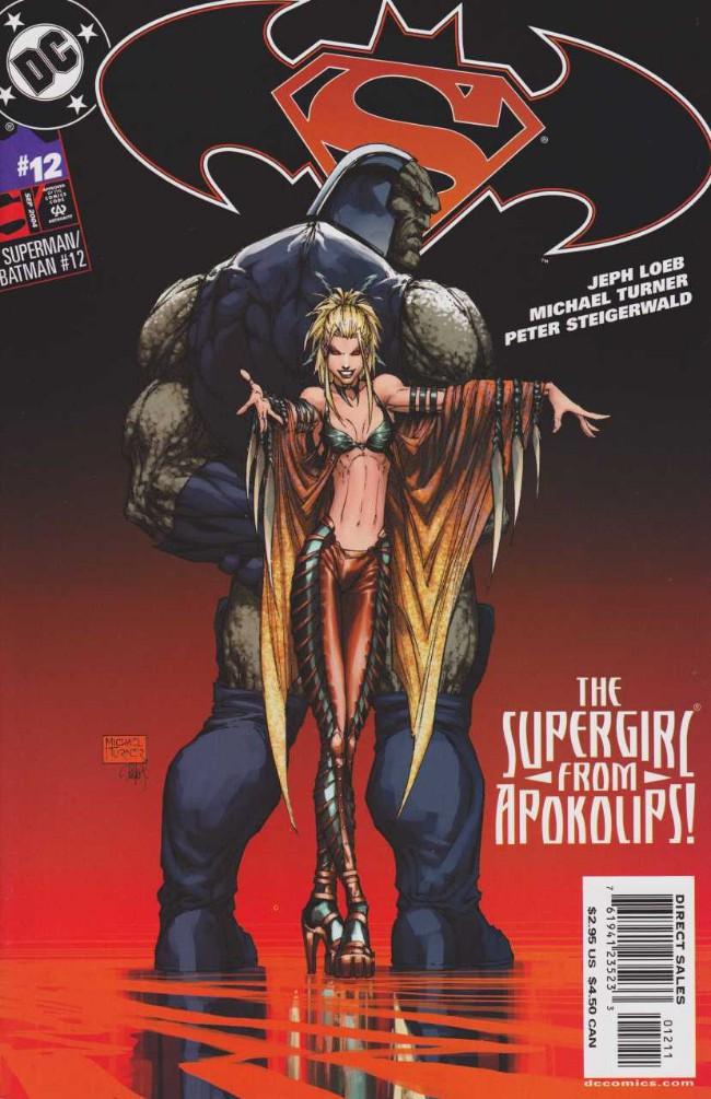 Couverture de Superman/Batman (2003) -12- Supergirl from Krypton. Part 5: Traitor
