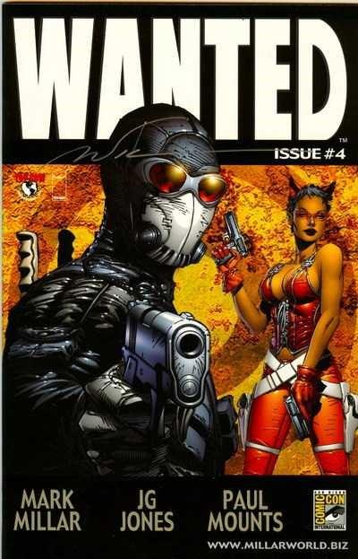 Couverture de Wanted (2003) -4VC- Crime pays