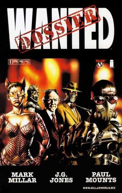 Couverture de Wanted (2003) -HS- Dossier