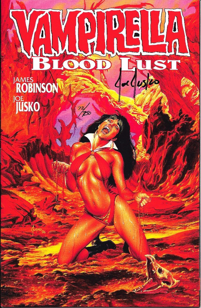 Couverture de Vampirella: Blood Lust (1997) -1- Blood lust - Book One