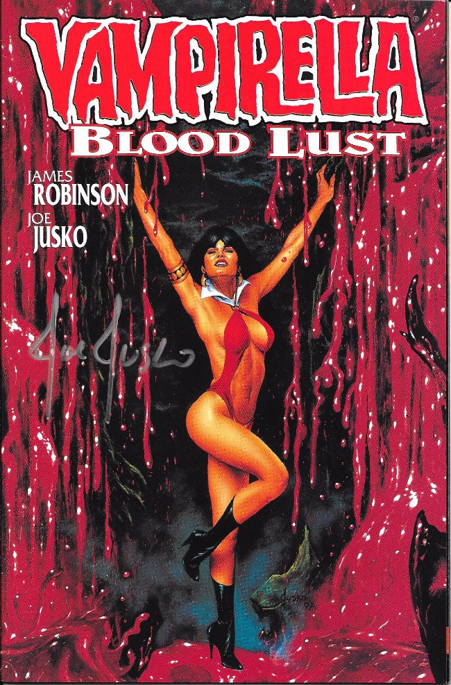 Couverture de Vampirella: Blood Lust (1997) -2- Blood lust - Book Two
