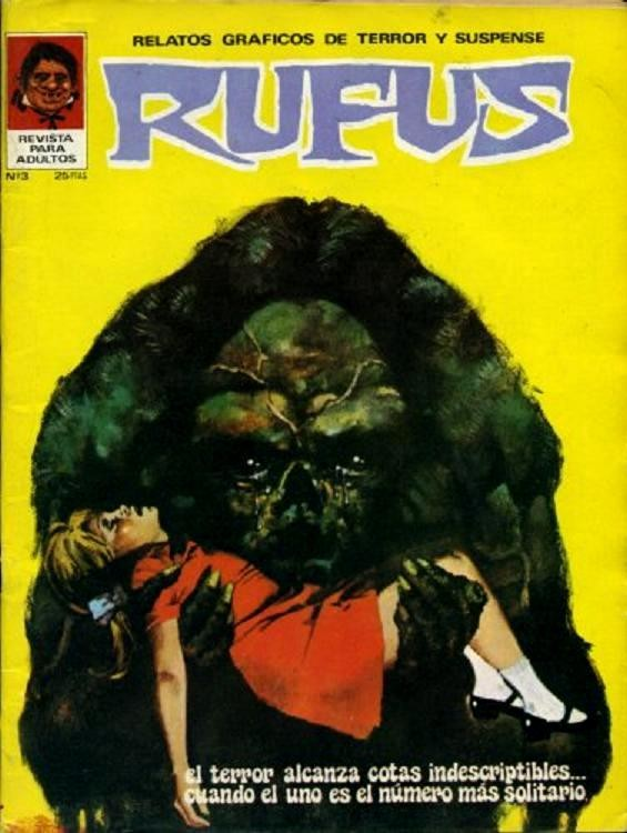 Couverture de Rufus (Eerie en espagnol) -3- El uno es el número más solitario