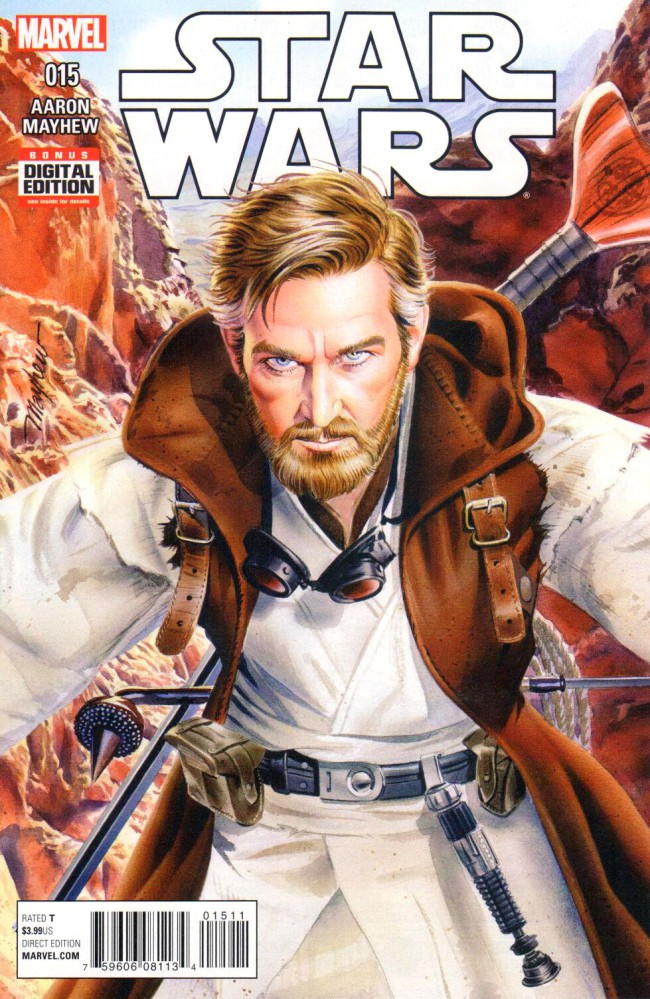 Couverture de Star Wars Vol.2 (Marvel comics - 2015) -15- Kenobi's journal II
