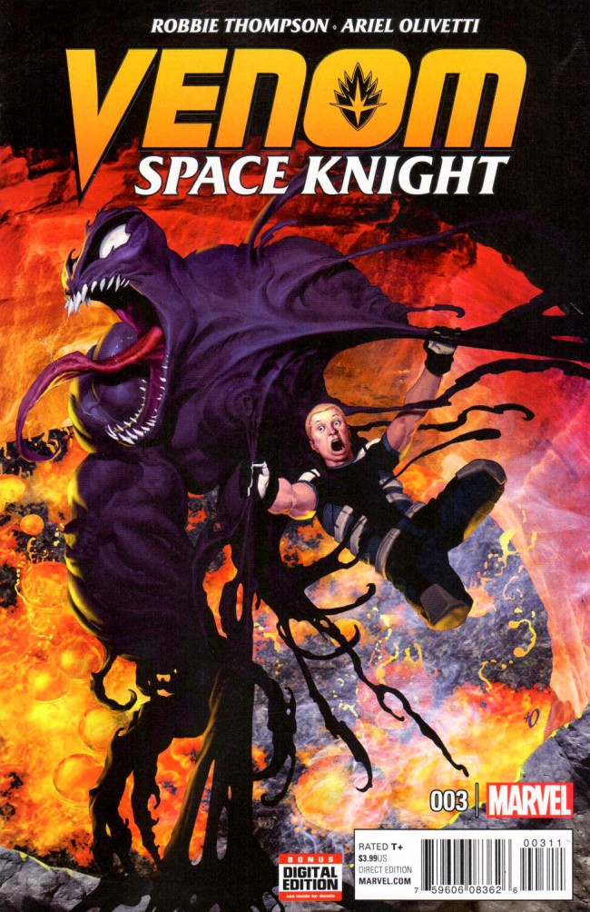 Couverture de Venom: Space Knight (2016) -3- Issue 3